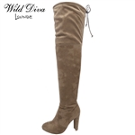 AMAYA-01 WHOLESALE WOMEN'S OVER THE KNEE BOOTS