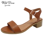APRIL-01 WHOLESALE WOMEN'S LOW HEEL SANDALS