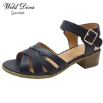 APRIL-35 WHOLESALE WOMEN'S LOW HEEL SANDALS