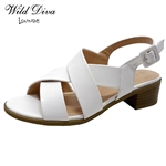 APRIL-40 WHOLESALE WOMEN'S LOW HEEL SANDALS