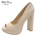 CARA-01 WHOLESALE WOMEN'S PUMPS ***LOW STOCK