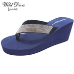 HEATWAVE-01 WHOLESALE WOMEN'S PLATFORM SANDALS ***VERY LOW STOCK