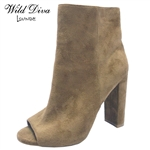 MORRIS-03 WHOLESALE WOMEN'S ANKLE BOOTIES ***VERY LOW STOCK