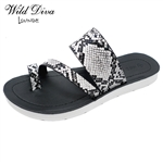 POLABUR-36 WHOLESALE WOMEN'S FOOT-BED SANDALS