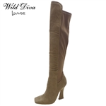 SASSY-05 WHOLESALE WOMEN'S OVER THE KNEE BOOTS